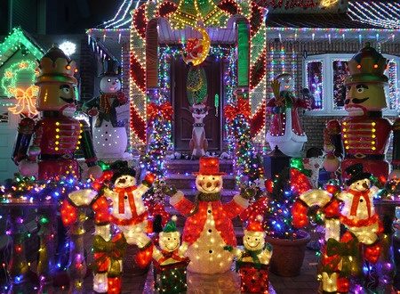 Esquire Real Estate Brokerage Christmas Lights House