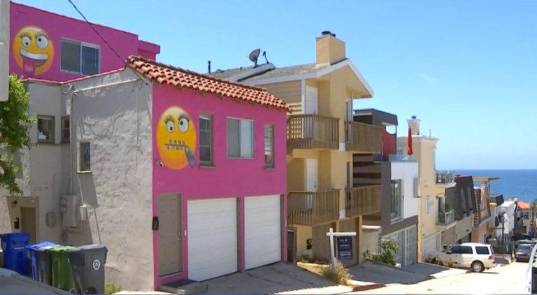 Manhattan Beach Homeowner Seeks Emoji Revenge